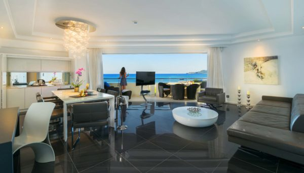 Presidential Suite Sea View Living Room