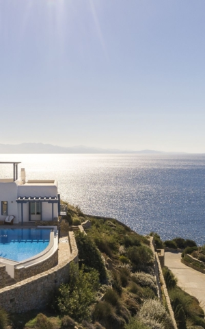 mykonos private pool villas