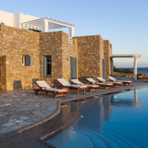 mykonos luxury villas with seaview