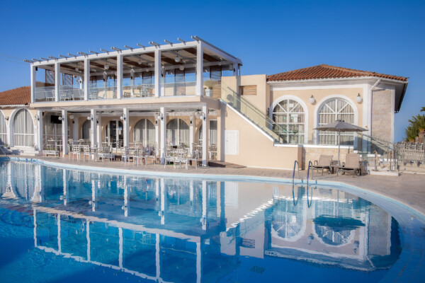 Marelen Hotel 4 star hotel Zakynthos - Main Pool & Main Building
