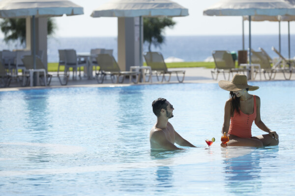 5* hotel in Rhodes with 3 swimming pools