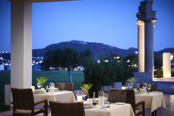 A la carte dining in Rhodes
