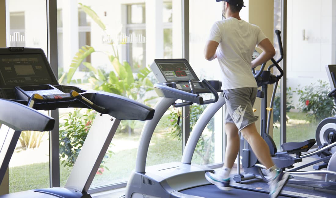 Our guests stay fit and healthy with our fitness facilities